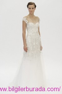Lela-Rose-Spring-2015-off-the-shoulder-A-Line-wedding-dress-womenfashionstylex-bilgilerburada