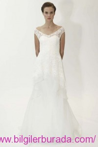 Lela-Rose-Spring-2015-off-the-shoulder-A-Line-wedding-dress-womenfashionstylex-bilgilerburada2015-summerwhite-summer11lela-rose07