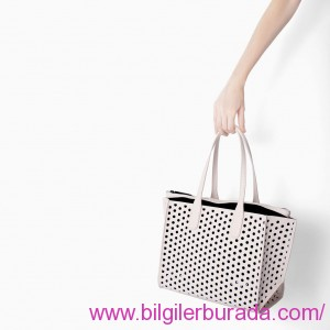 PERFORATED-MINI-SHOPPER-zara-women-bag-2015-summer-ladies handbags-summer