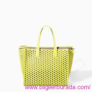 ZARA-2015-summer-ladies handbags-summer-PERFORATED-SHOPPER-BAG