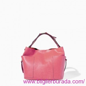 ZARA-2015-summer-ladies handbags-summer-RED