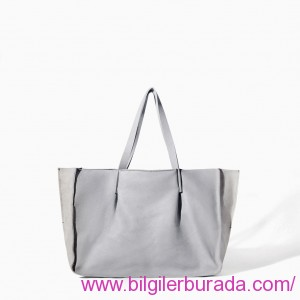 zara-grey-LEATHER-SHOPPER-bilgilerburada